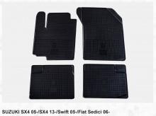 Резиновые коврики Suzuki SX4 Stingray