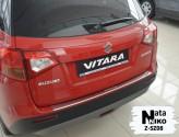 Nataniko Накладка на бампер с загибом Suzuki Vitara 2015-