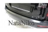 Накладка на бампер Skoda A5 liftback 2009-2013
