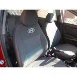 EMC Чехлы на сиденья Hyundai Accent 2017- (делённый салон)