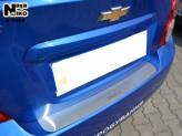Nataniko Накладка на бампер Chevrolet Aveo sedan 2011-