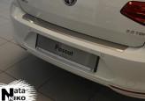 Nataniko Накладка на бампер с загибом VW Passat B8 variant