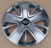 Колпаки Kia 428 R16 (Комплект 4 шт.) SKS (с эмблемой)