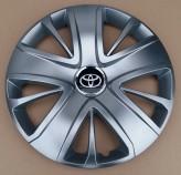 Колпаки Toyota 428 R16 (Комплект 4 шт.) SKS (с эмблемой)