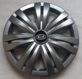 Колпаки Kia 427 R16 (Комплект 4 шт.) SKS (с эмблемой)