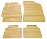 Резиновые коврики Toyota Camry 2006-2011- БЕЖЕВЫЕ Stingray