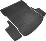 AvtoGumm Резиновый коврик в багажник BMW G30 sedan 2017-