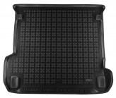 Резиновый коврик в багажник Audi Q7 2015- Rezaw-Plast