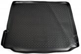 Резиновый коврик в багажник BMW X5 (E70) чёрный Unidec