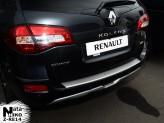 Nataniko Накладка на бампер с загибом Renault Koleos 2008-2016