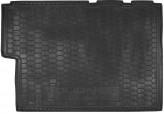 Резиновый коврик в багажник Ford Custom 2012-