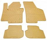 Stingray Резиновые коврики Volkswagen Jetta 2011- Бежевые