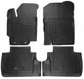 AvtoGumm Резиновые коврики Toyota Yaris 2011-2015-