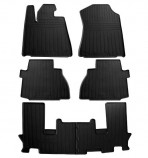 Stingray Резиновые коврики Toyota Sequoia 2008- (3 ряда сидений)