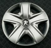 SKS (с эмблемой) Колпаки Peugeot 500 R17 (Комплект 4 шт.)