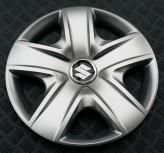 SKS (с эмблемой) Колпаки Suzuki 500 R17 (Комплект 4 шт.)