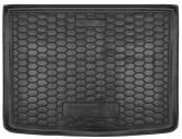 AvtoGumm Резиновый коврик в багажник Chevrolet Volt 2010-