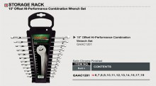 TOPTUL Набор ключей комбинированных 12 шт. 6-19мм GAAC1201