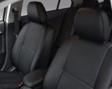 Чехлы ЭКОКОЖА на сиденья Renault Duster 2015- (деленный) Prestige LUX