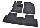 Beltex Коврики в салон Honda Civic 8 SD 2005-2012 текстильные (Premium)