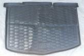 Резиновый коврик в багажник Toyota Yaris 2011- (нижний) AvtoGumm