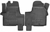 Резиновые коврики Renault Trafic Opel Vivaro 2014-