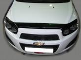 Sim Дефлектор капота Chevrolet Aveo 2011-