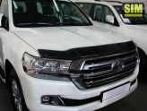 Дефлектор капота Toyota Land Cruiser 200 2015-