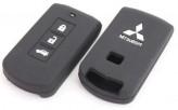 Чехол для ключа силиконовый Mitsubishi Outlander Pagero ASX L200