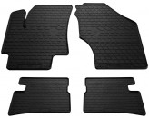 Резиновые коврики Hyundai Accent 2006-2010 Kia Rio 2005-2011
