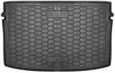 AvtoGumm Резиновый коврик в багажник VW Polo 2017- хетчбек