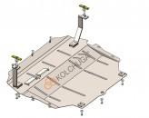Защита двигателя, КПП, радиатора VW Passat B7 Webasto