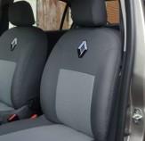 EMC Чехлы на сиденья Renault Logan MCV 2017- (без подлокотником)