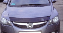 VT 52 Дефлектор капота Honda Civic 4D 2005-2012