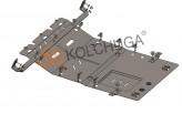 Кольчуга Защита двигателя, коробки передач, радиатора Citroen Jumper 2014-