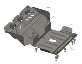 Кольчуга Защита двигателя, радиатора, переднего моста Land Cruiser Prado 90