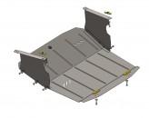 Кольчуга Защита двигателя, коробки передач, радиатора Nissan Interstar 1998-2010