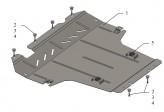 Кольчуга Защита двигателя, коробки передач, радиатора Nissan NV200 2009-
