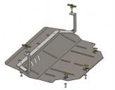 Кольчуга Защита двигателя, коробки передач Skoda Fabia 1999-2007