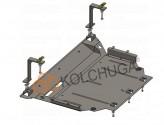 Кольчуга Защита двигателя, коробки передач, радиатора Skoda Karoq 2016-