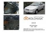 Кольчуга Защита двигателя, коробки передач, радиатора Hyundai Pony 1990-1994