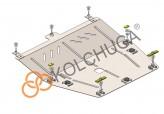 Кольчуга Защита двигателя, коробки передач Renault Clio 2012-