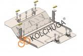 Кольчуга Защита радиатора Jac N56 2014-