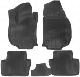 Глубокие резиновые коврики в салон Opel Astra H (3D штамп) L.Locker
