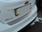 Накладка на бампер Ford Focus 2008-2011 HB