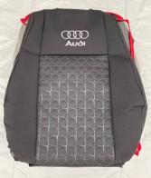 Favorite Оригинальные чехлы на сиденья Audi 80 В3 1986-1991 (встроенные подголовники )