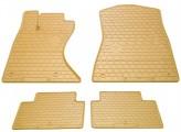 Резиновые коврики Lexus GS 2005-2012 4wd (полный привод) БЕЖЕВЫЕ