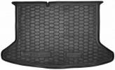 AvtoGumm Резиновый коврик в багажник Kia Niro 2017- (без органайзера)