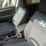 EMC Чехлы на сиденья Hyundai Accent 2017- (бугры)