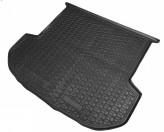 Резиновый коврик в багажник Hyundai Santa Fe 2018- (5-ти местный) AvtoGumm